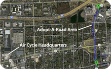 Adopt a Road Area - Air Cycle Corp.